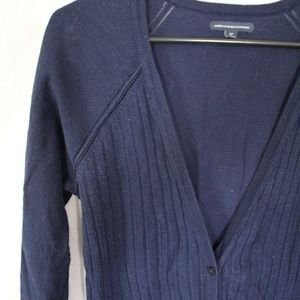 Navy American Eagle Cardigan